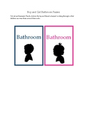 Boy and Girl Bathroom Passes