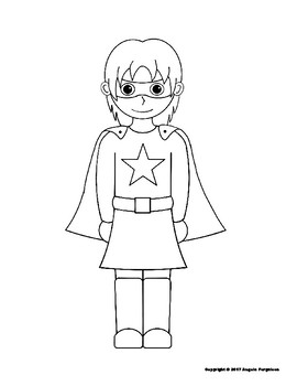 girl superheroes coloring pages Boy and Girl Superhero Coloring Pages by Super Learning Supplies girl superheroes coloring pages