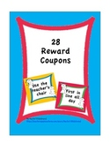 Reward Coupons - Boy and Girl Theme