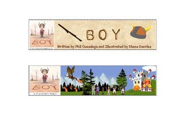 Boy by Phil Cummings & Shane Devries Bookmark CBCA Find Your Treasure Book Week