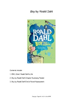 Boy by Roald Dahl Bundle