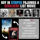 Boy in Striped Pajamas and Schindler's List Movie Guide Intro PPT and Video