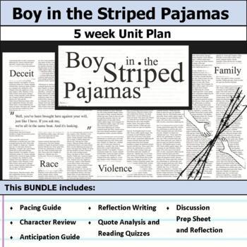 Boy in the Striped Pajamas Unit Bundle