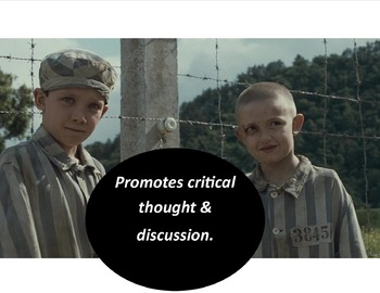Boy in the Striped Pajamas:  Critical Thinking Activity