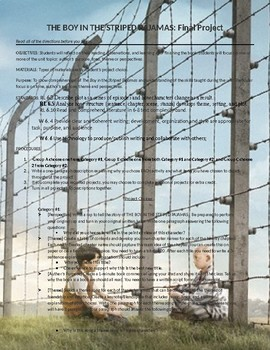 Boy in the Striped Pajamas Final Project