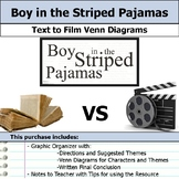 Boy in the Striped Pajamas - Text to Film Venn Diagram and Film Essay