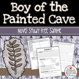 Boy of the Painted Cave Novel Study Unit: FREE Sample