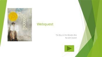 Boy on the Wooden Box Webquest