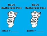 Boy's Bathroom Pass