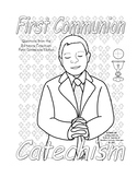 Boy's First Communion Catechism Workbook