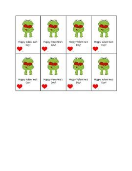 Boy's Valentine's Printable Cards
