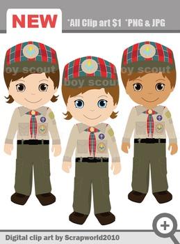 Boy scout webelos uniform clip art 3png SALE70%
