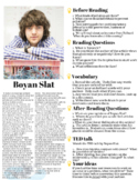 Boyan Slat - ESL Reading Worksheet - TED Talks Worksheets