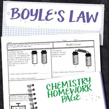 Boyles Law Teaching Resources Teachers Pay Teachers