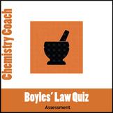 Boyle's Law Practice Quiz