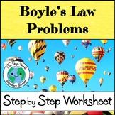 Boyle's Law Problems