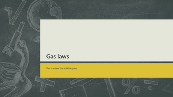 Boyle's and Charles's law Interactive Powerpoint