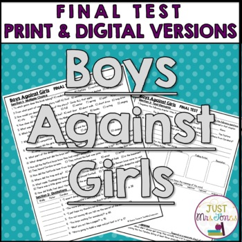 Boys Against Girls Final Test