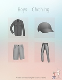 Boys Clothing Matching Labeling Identification Speech Ther