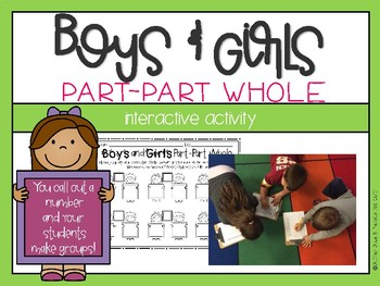 Boys & Girls Part-Part Whole