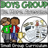 Boys Group Counseling Curriculum