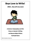 Boys Love to Write (Unique Writing Prompts that Boys Love)