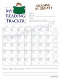 Boys Monthly Reading Chart