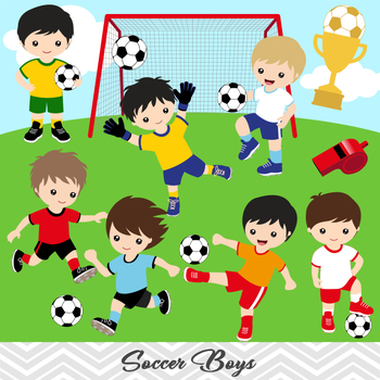 iCLIPART - Cartoon Clip Art Illustration of a Boy with Lots of Different  Sports Equipment #clipar… | Vacation bible school, Daniel and the lions,  Childrens ministry