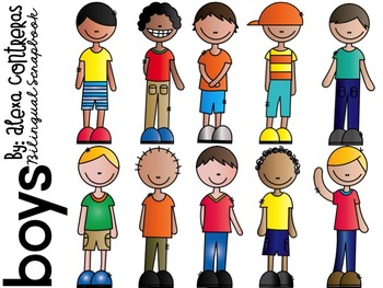 Boys and Girls {Kids Clip Art}