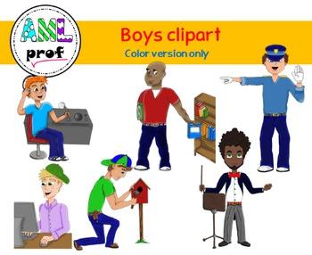 Boys clipart