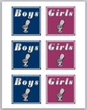 Boys/Girls Bathroom Passes