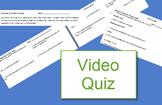 Bozeman: Human Population Dynamics quiz (population ecology video)
