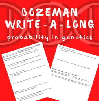 Bozeman WAL (write-a-long): Probability in Genetics
