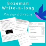 Bozeman Write-a-Long: Hardy Weinberg Problems