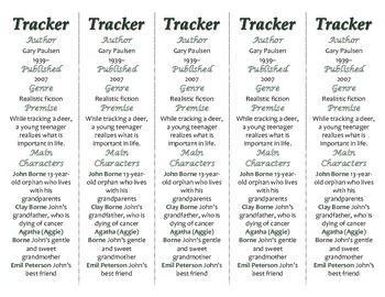 Tracker edition of Bookmarks Plus—Fun Freebie & Handy Reading Aid!