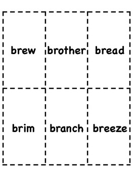 Br Blend Bingo [10 playing cards]
