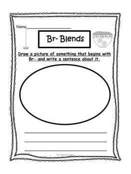 Br- Blend Emergent Reader