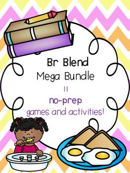 Br Blend Mega Bundle! [11 no-prep games and activities]