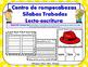 Br Centro de Silabas Trabadas Grupos Consonanticos Station