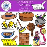 Br Sounds / Words: Beginning Sounds Clip Art