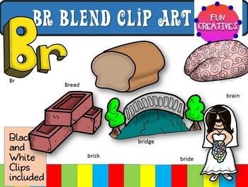 Br blend Clip Art