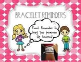 Bracelet Reminders FREEBIE
