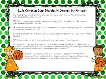 Brackets of Basketball Fun! {Themed Printables Aligned to The Common Core}