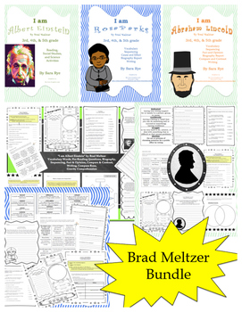 Brad Meltzer Bundle: : I am Albert Einstein, Rosa Parks, and Abraham Lincoln