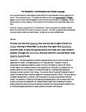"Bradbury's ""The Pedestrian"" - A Lesson in Diction"