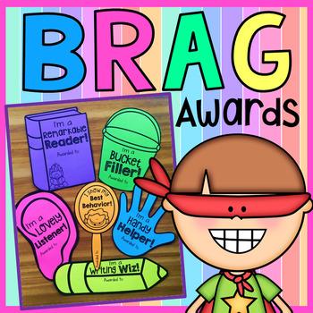Brag Awards - Classroom Management Certificates