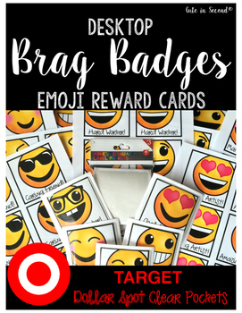Brag Badges Desktop Reward Cards for Target Pockets