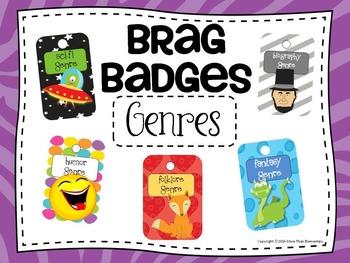 Brag Badges - Literary Genres