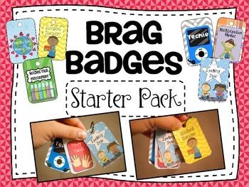 Brag Badges Starter Pack
