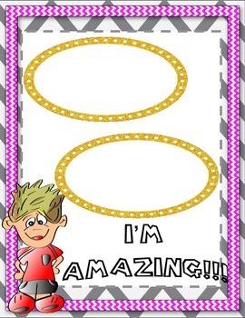 Brag Book-Glitter Badge Theme